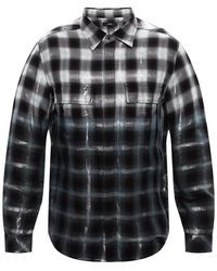 DIESEL Lurex-trimmed Shirt Grey