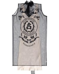 Acne Studios Sleeveless Dress Grey