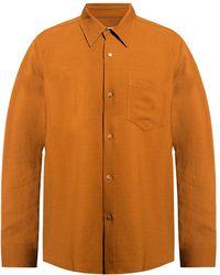 AMI - Shirt With Pocket - Lyst