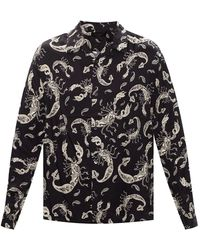 AllSaints - Skorpio Long Sleeve Shirt - Lyst