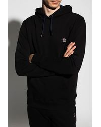PS by Paul Smith Logo Hoodie - Black