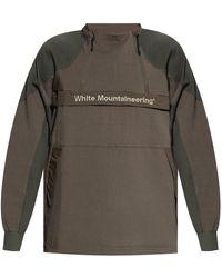 White Mountaineering Jacket With Logo - Green