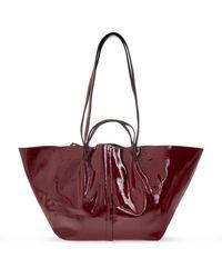 AllSaints 'odette' Shopper Bag - Red