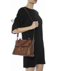 Chloé 'faye Day' Shoulder Bag - Brown