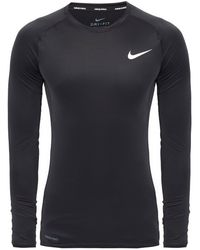 Nike Performance T-shirt With Logo Black