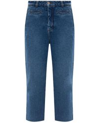 Loewe - Jeans With Worn Effect - Lyst