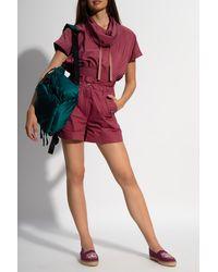 KENZO High-waisted Shorts - Pink