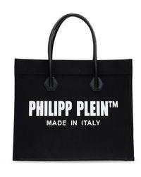 Philipp Plein Shopper Bag - Black