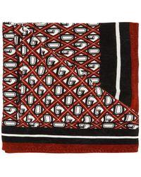 Dolce & Gabbana Logo Towel Multicolor - Red