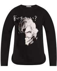 Yohji Yamamoto Long Sleeve T-shirt Black