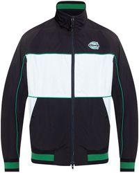 COACH Jacket With Logo - Blue