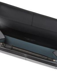 Bottega Veneta 'intrecciato' Pattern Bi-fold Wallet - Black