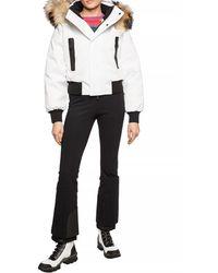 DSquared² Branded Down Jacket White