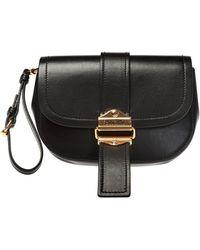 Moschino Logo Belt Bag - Black