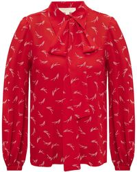 MICHAEL Michael Kors Patterned Shirt Red