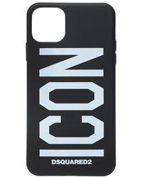 DSquared² Iphone 11 Case Unisex Black