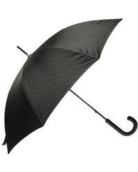 Burberry Logo Umbrella - Black