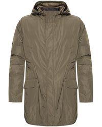 Yves Salomon Two-layered Jacket Green