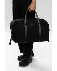 Burberry Holdall Bag With Logo Black