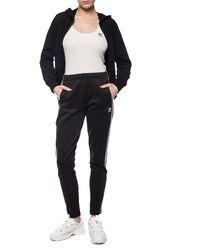 adidas Originals Side-stripe Track Trousers Black