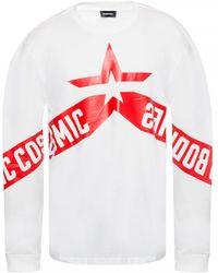 DIESEL Long Sleeve T-shirt White