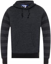 Junya Watanabe Hooded Sweatshirt - Gray