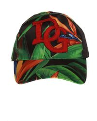 Dolce & Gabbana Branded Baseball Cap - Green