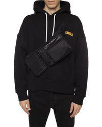 DSquared² Branded Belt Bag - Black