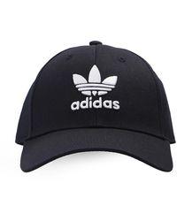 adidas Originals Branded Baseball Cap Unisex Black