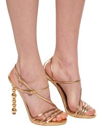 DSquared² Heeled Sandals - Metallic