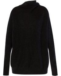 AllSaints - Oversize Rollneck Sweater - Lyst