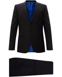 Paul Smith Wool Suit Men's Black