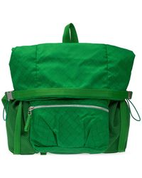 Bottega Veneta Backpack With Pockets - Green