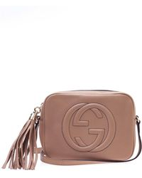 Gucci 'soho Disco' Shoulder Bag - Natural