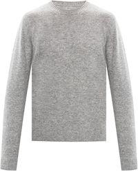Samsøe & Samsøe Wool Jumper Grey