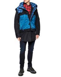 DIESEL Padded Jacket Black