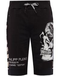 Philipp Plein - Skull Motif Shorts - Lyst