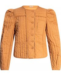 Ulla Johnson Quilted Jacket - Brown