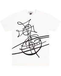 Vivienne Westwood Printed T-shirt - White