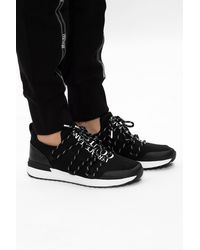 Versace Jeans Couture Trainers With Logo - Black