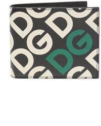 Dolce & Gabbana - Bifold Wallet With Logo - Lyst