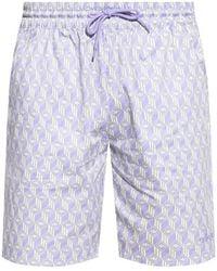 adidas Originals Shorts With Logo Purple