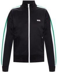 DIESEL Sweatshirt With Logo - Black