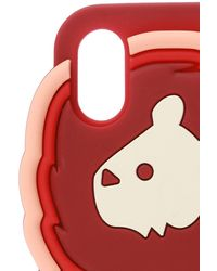 See By Chloé Iphone X/xs Case Burgundy - Red