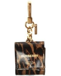 Burberry Chained Headphone Case - Brown