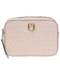 Furla 'belvedere' Belt Bag With Logo - Natural
