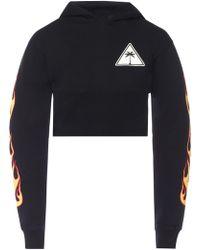 Palm Angels - Hooded Sweatshirt - Lyst