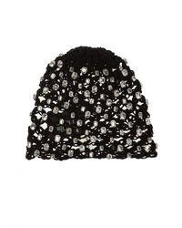 Saint Laurent - Hat With Decorative Elements - Lyst
