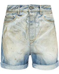 Golden Goose Deluxe Brand - Denim Shorts - Lyst