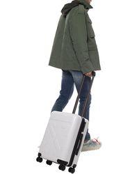 Off-White c/o Virgil Abloh Suitcase With Logo Unisex White